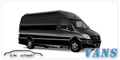 Luxury Van service in Tulsa