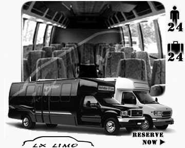 Bus for airport transfers in Tulsa, OK