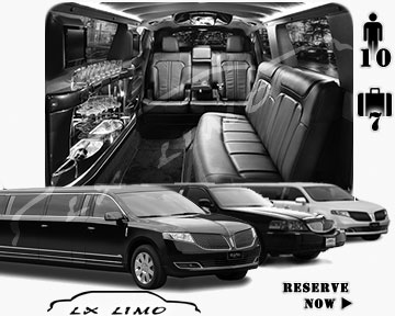 Tulsa Town Car Stretch Limo for rental