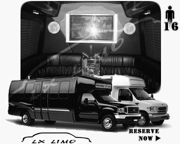 Tulsa Party Limo Bus rental